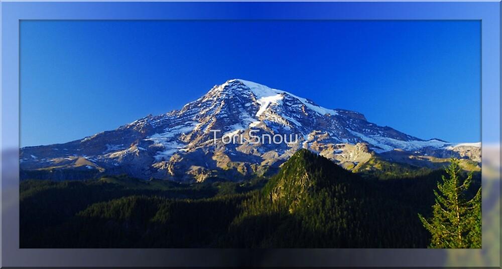 The Blue Hour at Mt. Rainier by Tori Snow