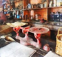 Balance Scale in General Store by Susan Savad