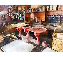 Balance Scale in General Store Photographic Print