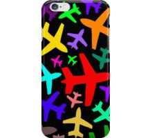 You Cannot Put One Jet in a Line - Black iPhone Case/Skin