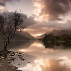 Sunrise over Llyn Padarn by Carlb40
