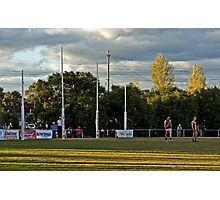 Aussie Rules Photographic Print