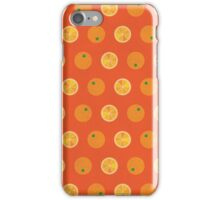 Cute Oranges Picture Pattern iPhone Case/Skin