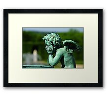 Disappointed Cupid... Framed Print