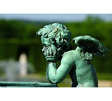 Disappointed Cupid... Photographic Print