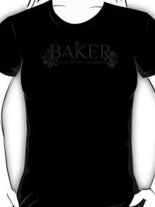 Baker sugar and fat consultant funny baking t-shirt T-Shirt
