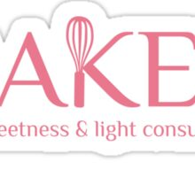 Baker sweetness and light consultant funny baking t-shirt Sticker