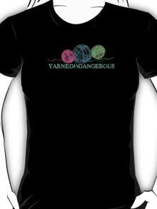 Crayon balls of yarn funny knitting crochet t-shirt T-Shirt