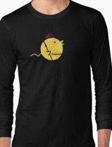 Crochet chick crochet hook ball of yarn funny t-shirt Long Sleeve T-Shirt