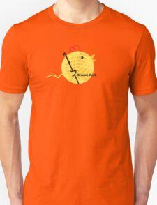 Crochet chick crochet hook ball of yarn funny t-shirt Unisex T-Shirt