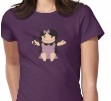 Cute handmade doll toy sewing seamstress t-shirt Womens Fitted T-Shirt