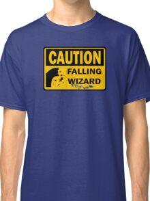 Caution: Falling Wizard Classic T-Shirt