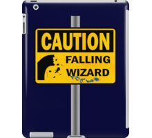 Caution: Falling Wizard iPad Case/Skin