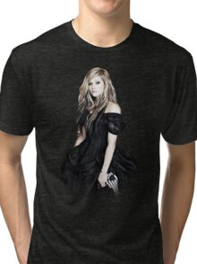 Avril Lavigne - Goodbye Lullaby Tri-blend T-Shirt