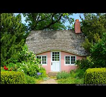 View On Pink Play House - Planting Fields Arboretum State Historic Park - Upper Brookville, New York by © Sophie W. Smith
