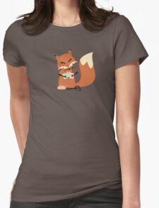 Cute fox seamstress sewing thread scissors T-Shirt