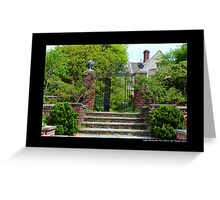 View On Coe Hall Historic House Museum - Upper Brookville, New York Greeting Card