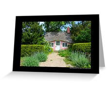 View On Pink Play House - Planting Fields Arboretum State Historic Park - Upper Brookville, New York Greeting Card