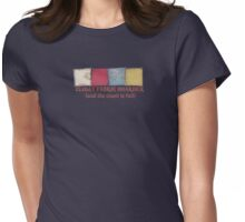 Sewing seamstress fabric hoarder funny t-shirt Womens Fitted T-Shirt