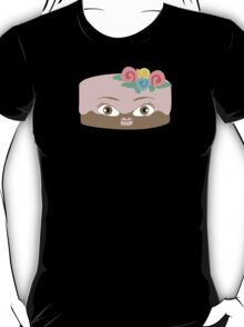 Frosted girl cake funny baking bakery t-shirt T-Shirt