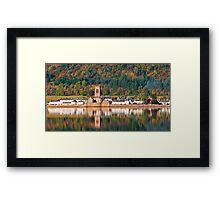 Inveraray, Scotland Framed Print