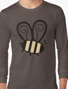 Giant cute bumble bee insect t-shirt Long Sleeve T-Shirt