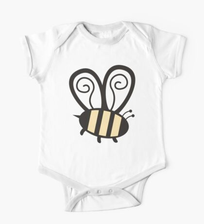 Giant cute bumble bee insect t-shirt One Piece - Short Sleeve