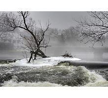 A Frosty Almonte Morning Photographic Print
