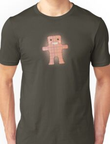Hand stitched handmade toy monster stuffy Unisex T-Shirt