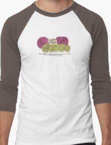 happy hooker crochet hook yarn hank skein Men's Baseball ¾ T-Shirt