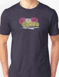 happy hooker crochet hook yarn hank skein Unisex T-Shirt