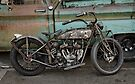 Rusty Indian Scout Bobber by Frank Kletschkus