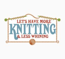 more knitting less whining knitting needles Kids Clothes