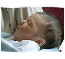 Meet Charlie, Our New Great Grandson Born 21st May 2013 at 11.50 pm Poster