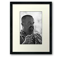 Croc Master Framed Print