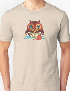knitting needles owl paisley mustache steampunk skeleton Unisex T-Shirt