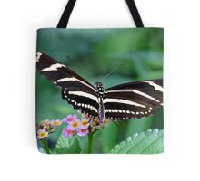 Zebra Longwing butterfly 2 Tote Bag