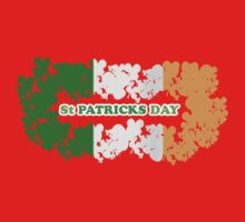 St Patricks Day Flag Clovers Kids Clothes
