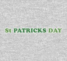 St Patricks Day One Piece - Long Sleeve
