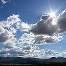 Sky over Cold Springs,Reno Nevada USA by Anthony & Nancy  Leake