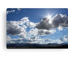 Sky over Cold Springs,Reno Nevada USA Canvas Print
