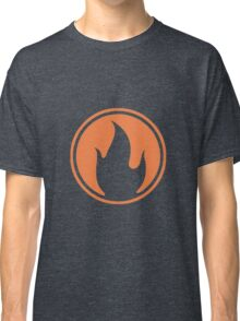 TF2 Black Pyro Emblem Classic T-Shirt