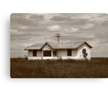Route 66 - Abandoned Farm House Canvas Print