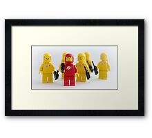 I've always wanted to go into.... Framed Print