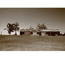 Route 66 - Abandoned Motel Photographic Print