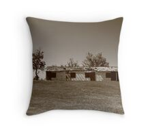 Route 66 - Abandoned Motel Throw Pillow
