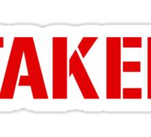 Taker Sticker