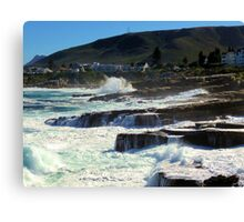 Hermanus coast, South Africa Canvas Print