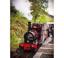 Steam Locomotive Dolgoch Photographic Print