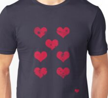 7 of Hearts - T-shirt 2 Unisex T-Shirt